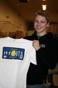 Press Run for 2010 Run For The Arts T-Shirt