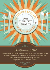 2011 Sunburst Awards Luncheon