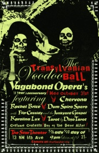 Vagabond Opera Halloween